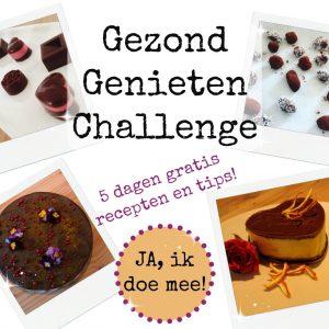 gezond genieten challenge