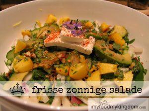 blog frisse zonnige salade