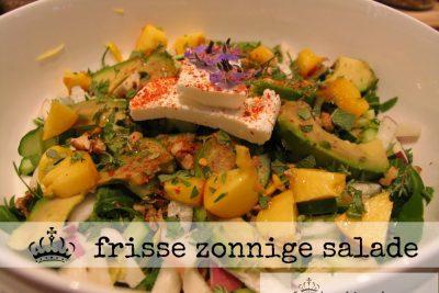 Frisse zonnige salade