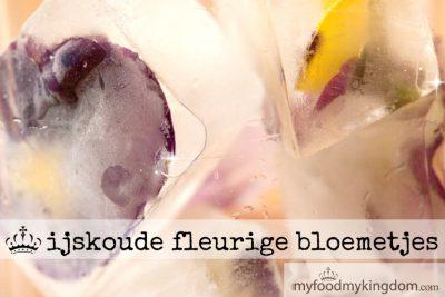 Ijskoude fleurige bloemetjes