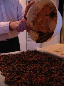 granola met cacao