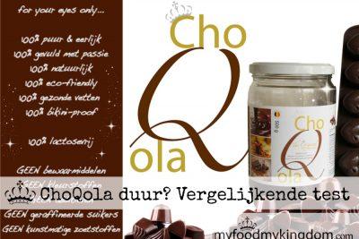 ChoQola duur? Vergelijkende test