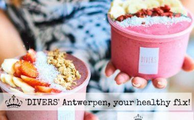 """""""Divers"""" Antwerpen, your healthy fix!"""