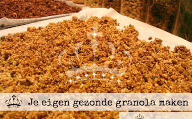 Je eigen gezonde granola maken
