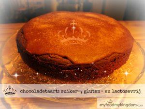 blog chocoladetaart suiker-, gluten- en lactosevrij