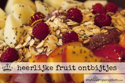 heerlijke fruit ontbijtjes