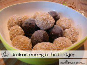 blog kokos energie balletjes