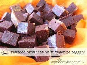 blog rawfood brownies om u tegen te zeggen