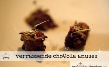 Verrassende choQola amuses