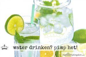 blog water drinken pimp het!