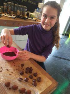 choQola truffels is kinderspel!