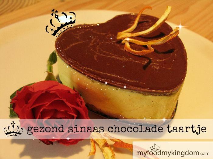 blog gezond sinaas chocolade taartje