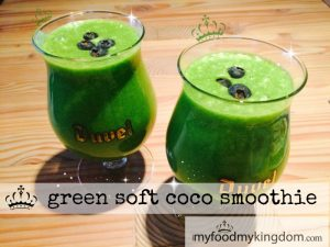 blog green soft coco smoothie