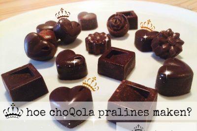 hoe choQola pralines maken?