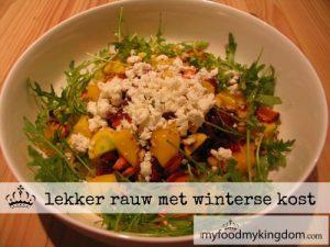 blog lekker rauw met winterse kost
