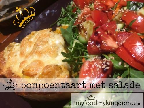 blog pompoentaart met salade