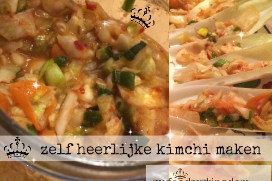 zelf heerlijke kimchi maken