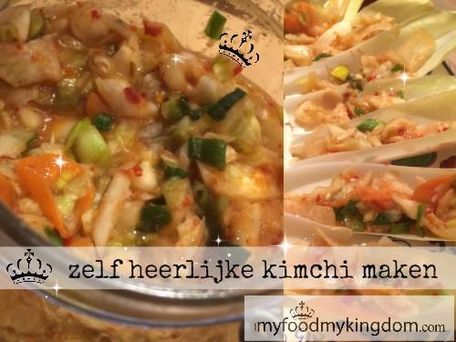 blog zelf heerlijke kimchi maken