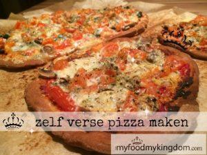 blog zelf verse pizza maken