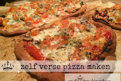 Zelf verse pizza maken