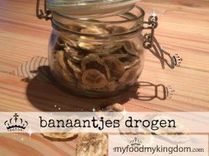 blog banaantjes drogen