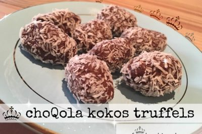 ChoQola kokos truffels