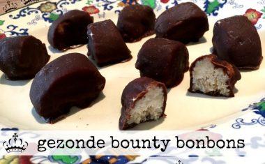 gezonde bounty bonbons