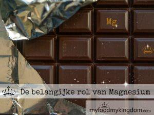 blog de belangrijke rol van magnesium