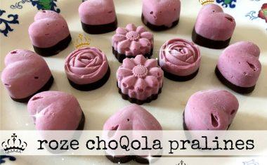 roze choQola pralines