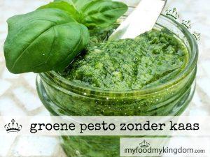 blog groene pesto zonder kaas