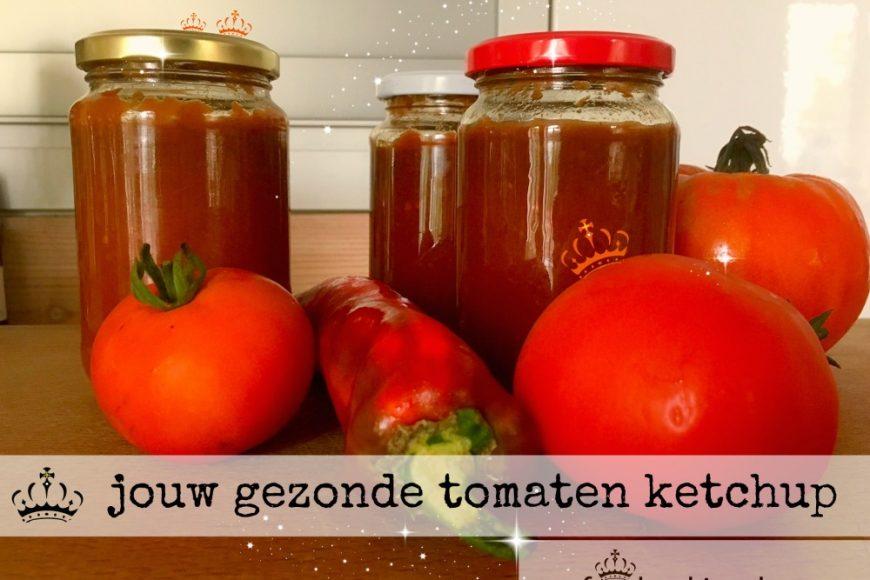Jouw gezonde tomaten ketchup
