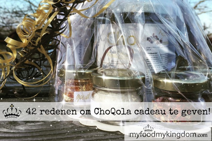 42 redenen om ChoQola cadeau te geven!