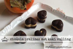 blog choQola pralines met kaki vulling