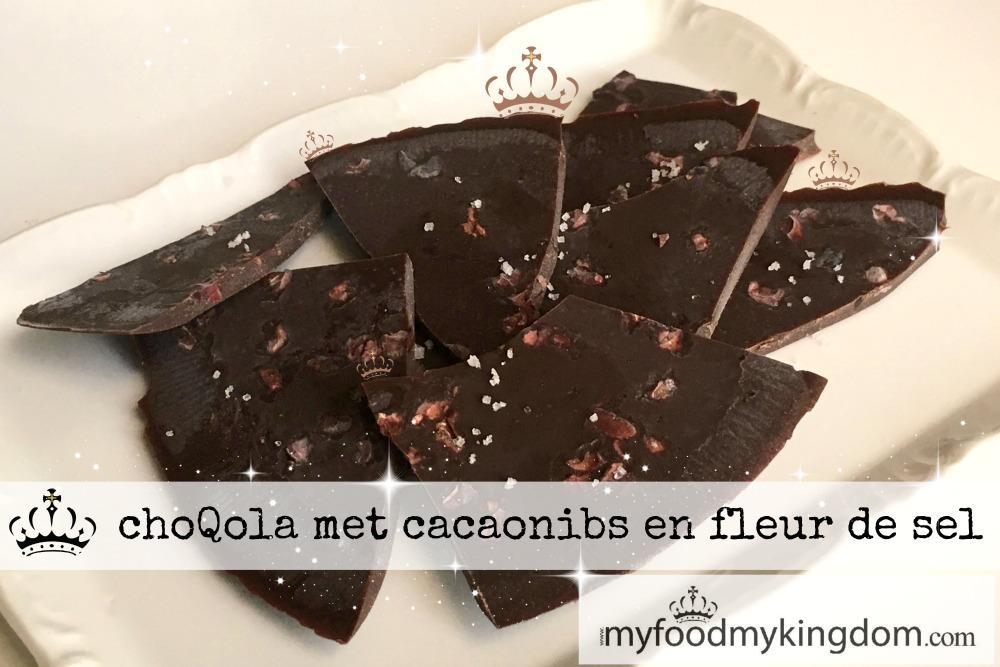blog choQola met cacaonibs en fleur de sel