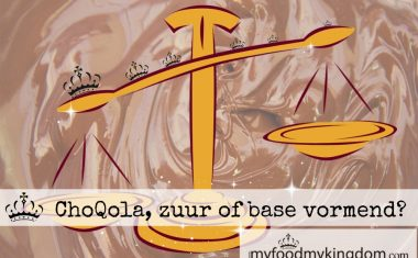 ChoQola, zuur of base vormend?