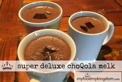 Super deluxe choQola melk