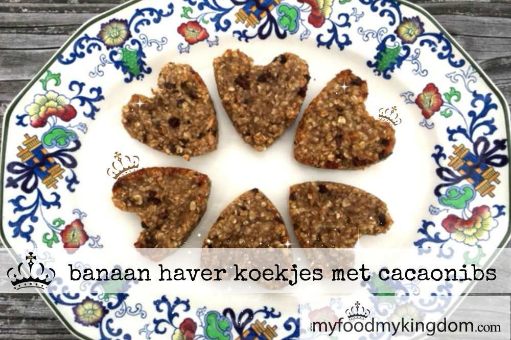 blog banaan haver koekjes met cacaonibs