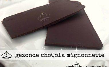 Gezonde choQola mignonnette