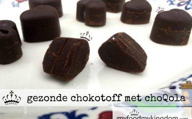 Gezonde chokotoff met choQola