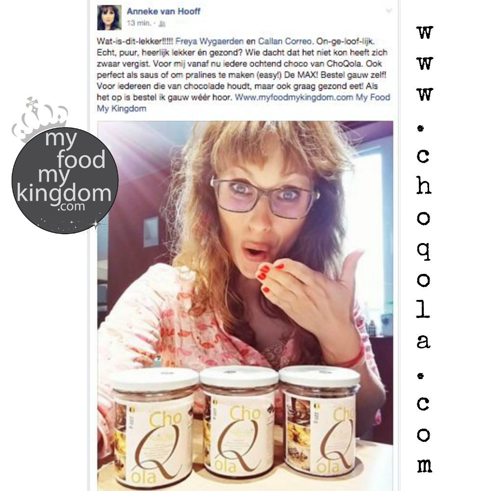 Anneke van Hooff compliment web choQola