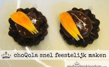 ChoQola snel feestelijk maken