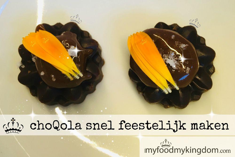 blog choQola snel feestelijk maken web