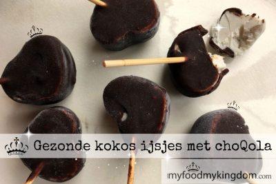 Gezonde kokos ijsjes met choQola