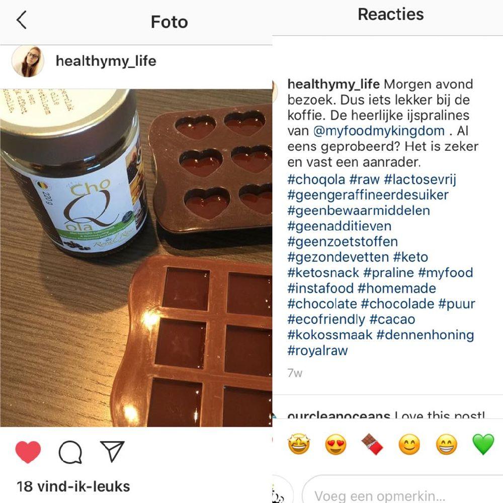 healthy my life met choQola
