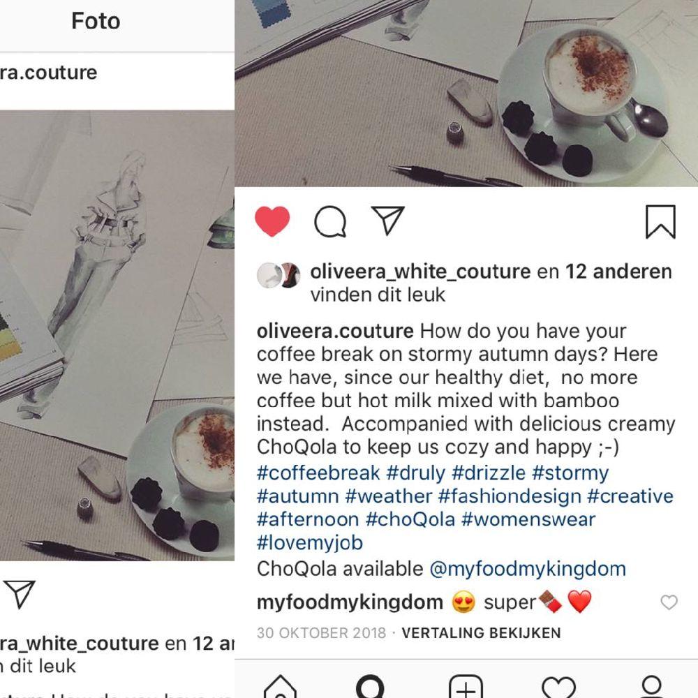 oliveera met choQola
