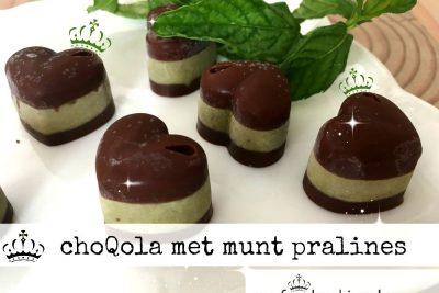 ChoQola met munt pralines