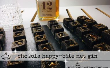 choQola happy-bite met gin