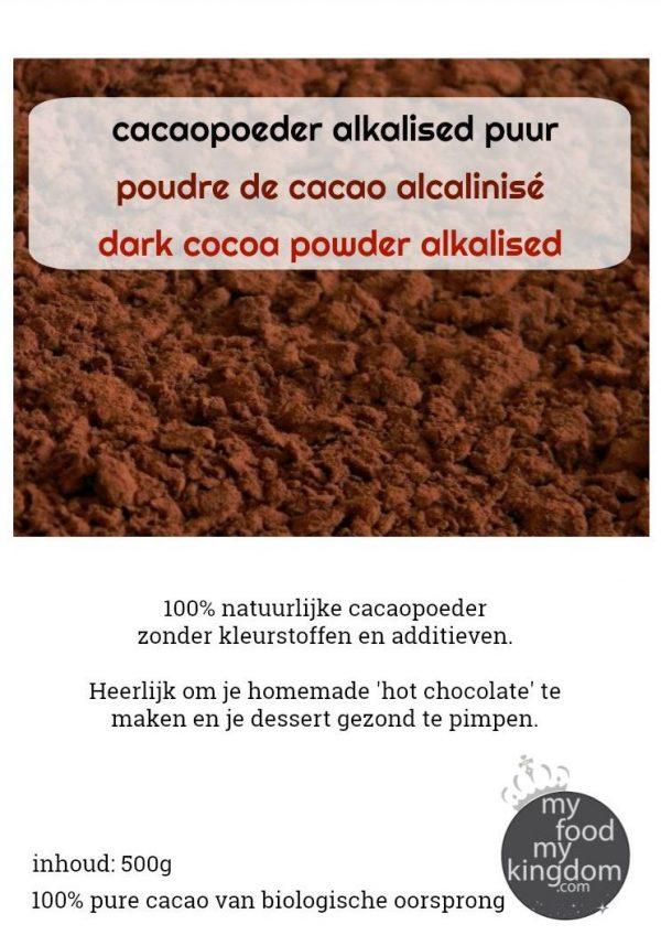 cacaopoeder alkalised puur