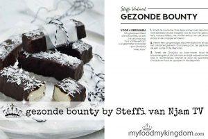 blog gezonde bounty van Steffi van Njam TV web